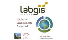 Noções de Licenciamento Ambiental