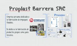 Proplast Barrera SAC