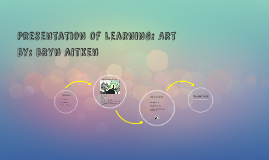 Presentation of Learning: Art
