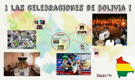 Las Celebraciones de Bolivia