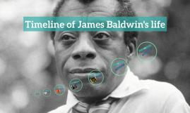 Timeline of James Baldwin's life