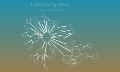 Nodes on my Nexus