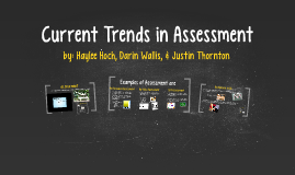 Current Trends in Assesment