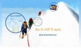 Copy of IB MYP at Work: Unit Planning