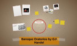 Baroque Oratorios by G.F. Handel