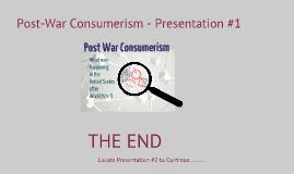 Post-War Consumerism #1