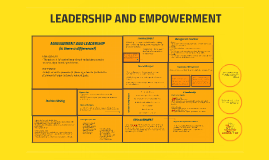Leadership and Empowerment (report)