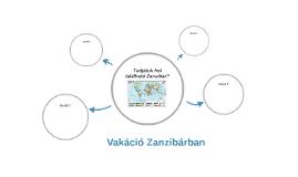 Vakáció Zanzibárban