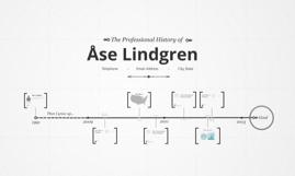 Timeline Prezumé by Åse Lindgren
