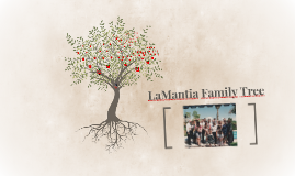 Copy of LaMantia Family Tree