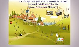 Flujo Energetico en comunidades rurales