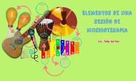 Elementos de una Sesion de Musicoterapia