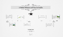 A Brief History of Tea Cultivation in India