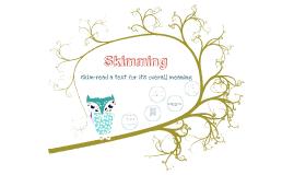 X curricular Skimming (reading)