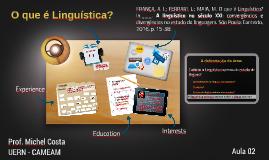 O que é Linguística?