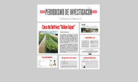 PERIODISMO DE INVESTIGACÓN