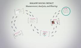 MALAWI SOCIAL IMPACT