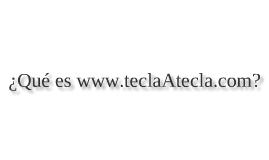 TeclaATecla.com