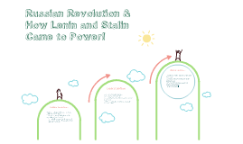 Russian Revolution and how Lenin/Stalin came to power