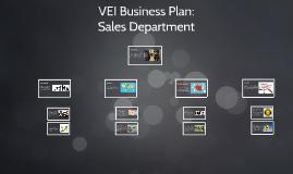 VEI Business Plan: Sales Department