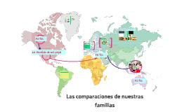 Las comparaciónes de nuestros familias
