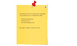 Veranstaltungen mit E-Learning Elementen planen
