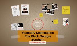 Voluntary Segregation