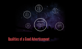 Qualities of a Good Advertisement
