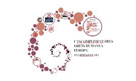 L' INCOMPLIMENT DELS DRETS HUMANS A EUROPA
