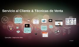 Servicio al Cliente & Técnicas de Venta