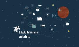 Calculo de funciones vectoriales.