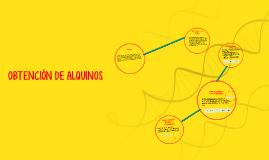 Copy of OBTENCIÓN DE ALQUINOS