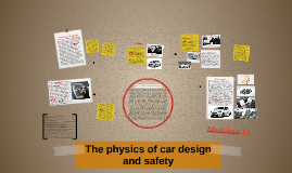 The physics of car design and safety