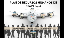 "PLAN DE RECURSOS HUMANOS ""SPAIN flight"""