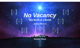 No Vacancy Honors Thesis