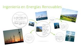 Copy of Ingeniería en Energías Renovables