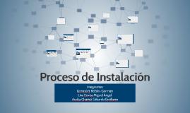 Proceso de Instalación