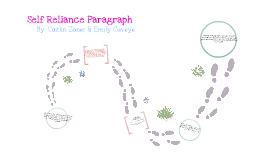 Self Reliance