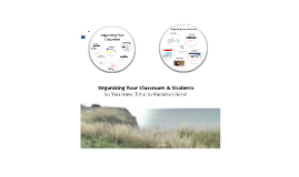 Organizing You and Your Classroom