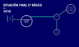 SITUACIÓN FINAL 5º BÁSICO