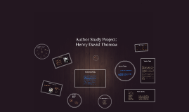 Author Study Project: