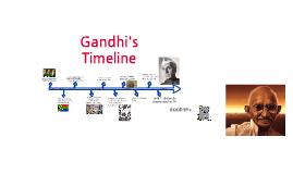 Gandhi's Timeline by Benny Jeong on Prezi