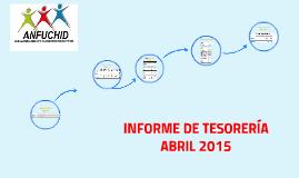 Informe de Tesorería - año 2015