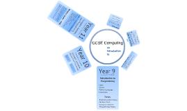 GCSE Computing Parents Evening.