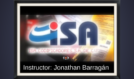 Instructor: Jonathan Barragán