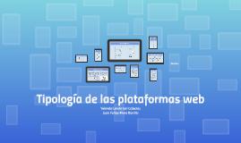 Tipología de las plataformas web