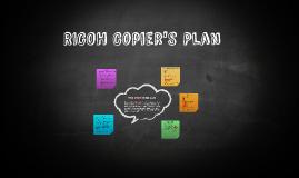 RICOH Copier's Plan