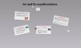 (Chap. 6) 8 Art and its manifestations