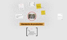 Copy of Standards de production
