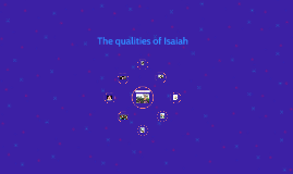 The qualities of Isaiah